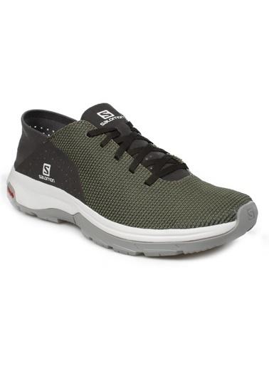 Salomon Tech Lıte Erkek Outdoor Ayakkabı Deep Lichen Green-Peat-Alloy Yeşil